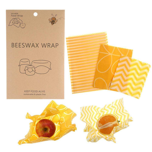 Beeswax Food Wrap Reusable Food Bee Wax Wrap Sandwich Cheese Fruit Wrap Cloth