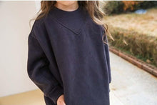 Load image into Gallery viewer, Navy Pullover Dress