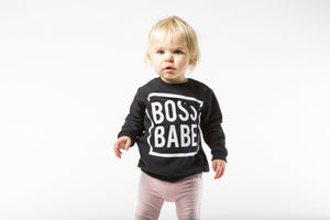 Boss Babe Sweatshirt - Black