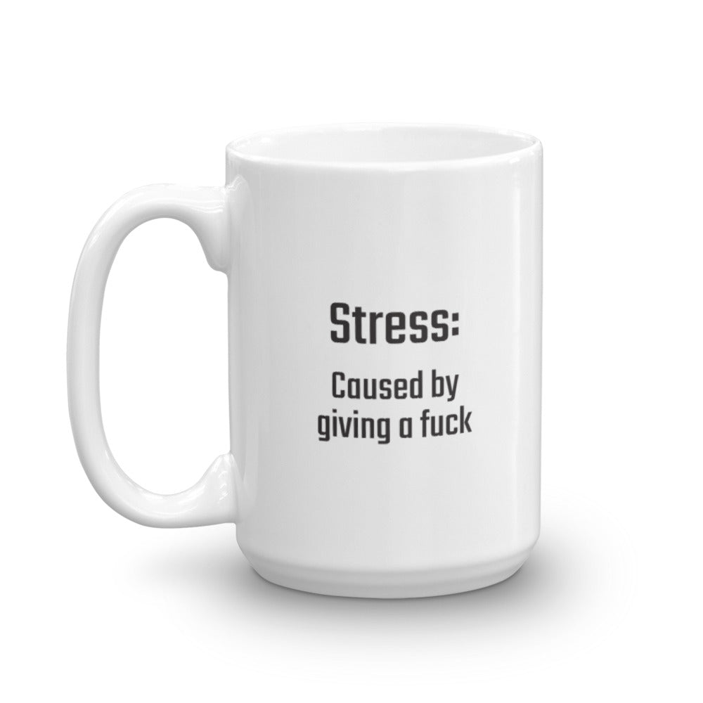 Stress: Caused by giving a f*ck - PITS