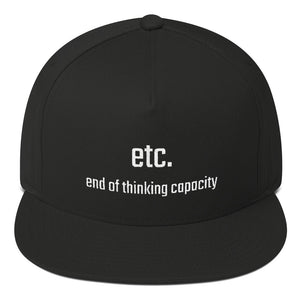 Etc. - end of thinking capacity - PITS