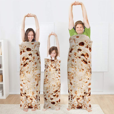 Burrito Novelty Blanket 7#
