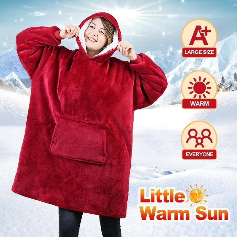Ultra Soft & Cozy Blanket Sweatshirt (Free Shipping)