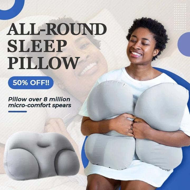 All-round Sleep Pillow Limited Time Gift 🎁🎁 Pillowcase & Machine Wash Bag