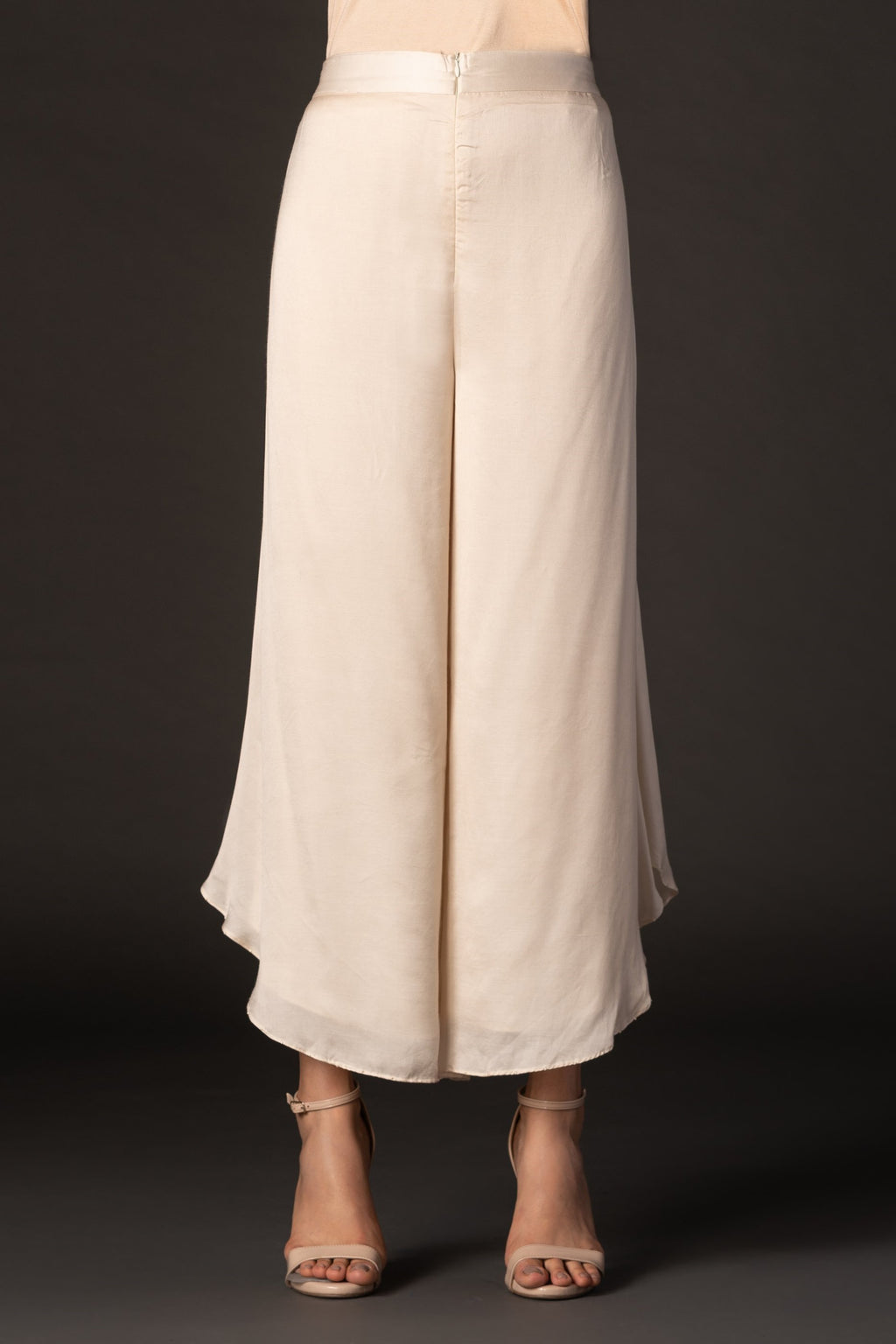 Silk Skirt Pants