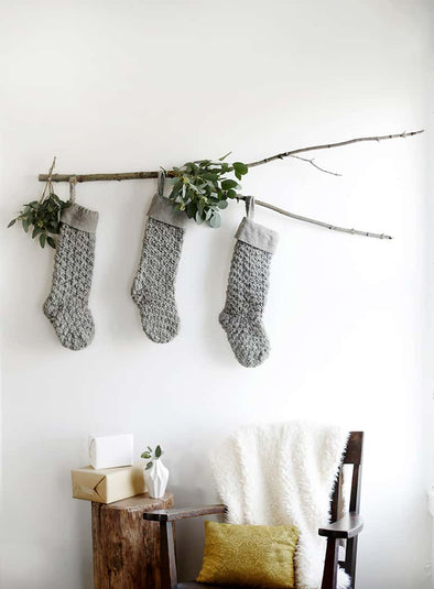 No Mantle for Stockings?