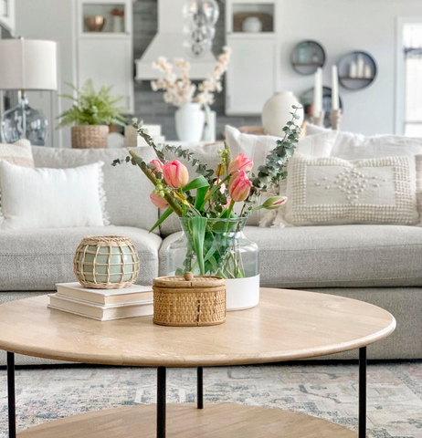 Coffee Table Decor for Spring