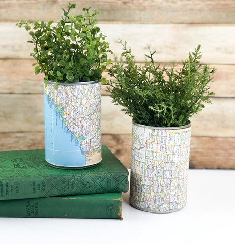 Map Planters