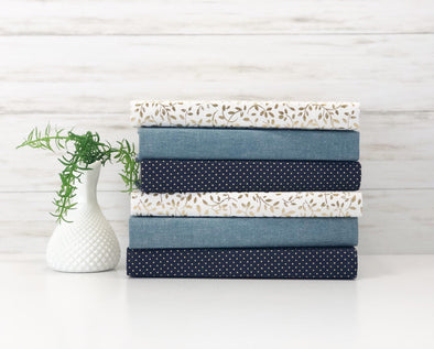Blue Home Decor / Decorative Books
