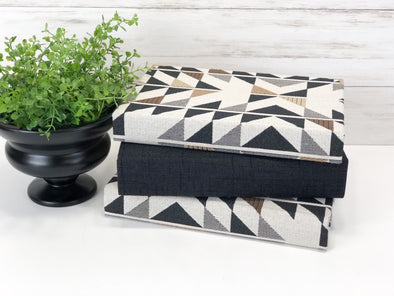 Geometric Decorative Books