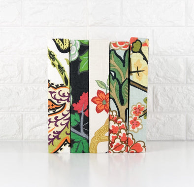 Floral Decorative Books / Books for Shelf Decor / Book Decor