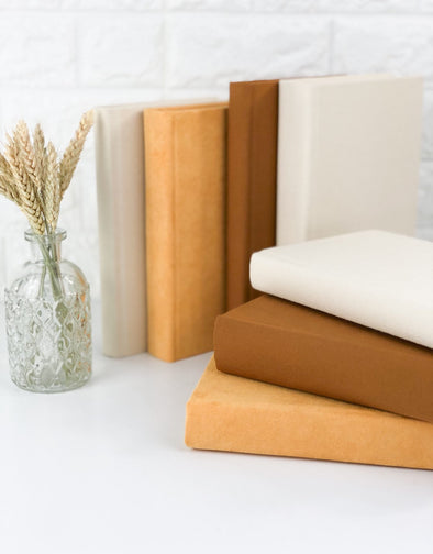 Books for Fall Decor / Books by Color