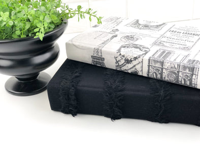 Black Decorative Books for Decor