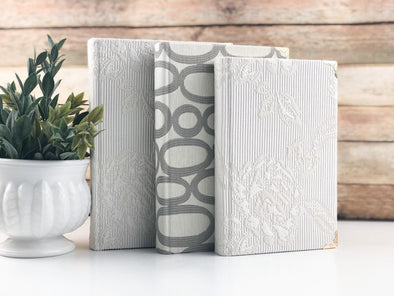 Linen Covered Books