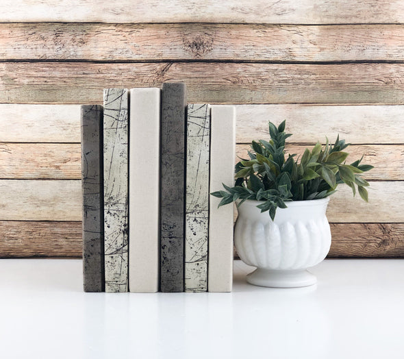 Shelf Decor / Decorative Books
