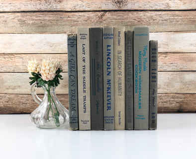 Blue and Beige Book Bundles