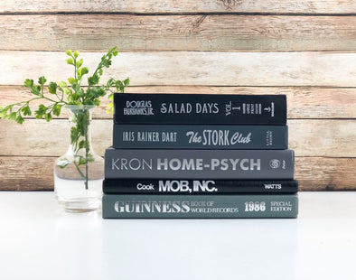 Books for Shelf Decor
