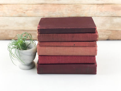 Red Decorative Books