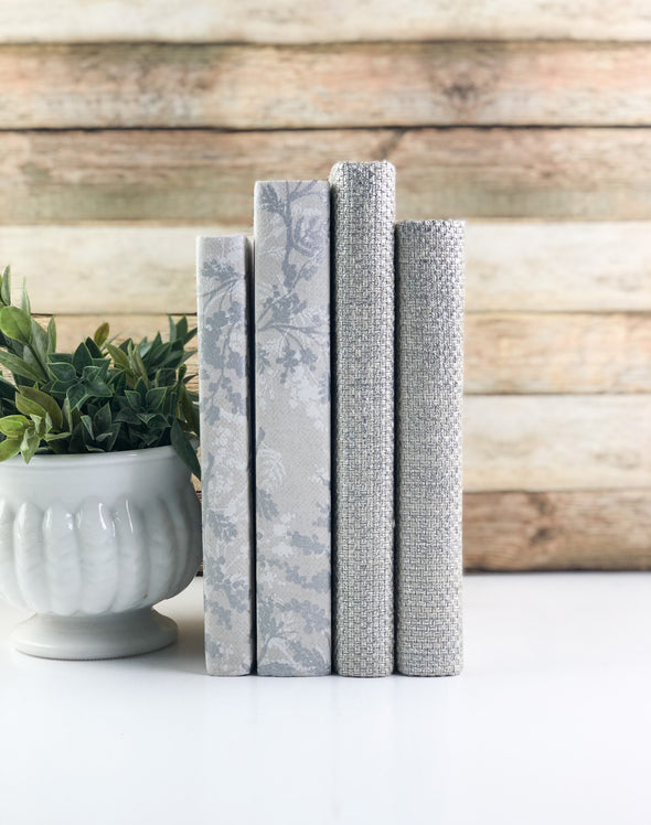 Decorative Books for Home Decor / Fabric Wrapped