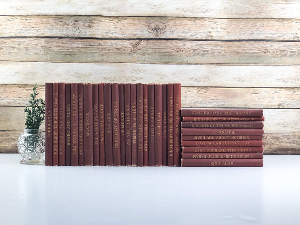 Red Books for Decor