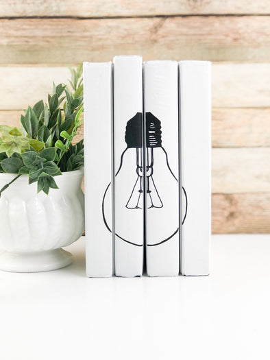 Modern Shelf Decor / Decorative Book Set