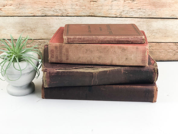 Red Books for Decoration