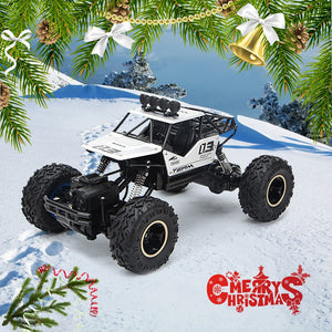RC Car Christmas gift 1/16 4WD Rock Crawlers 4x4 Driving Car Double Motors Drive RC Remote control car model vehicle toy