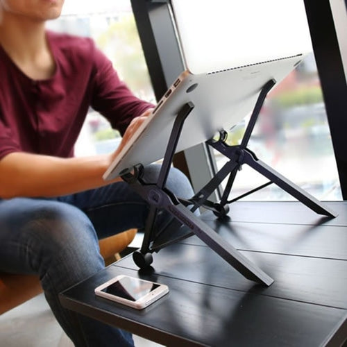 iFLEX Ergonomic Foldable & Adjustable Portable Laptop Stand