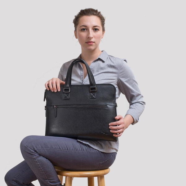 Venetian™ Women's Pebbled Briefcase