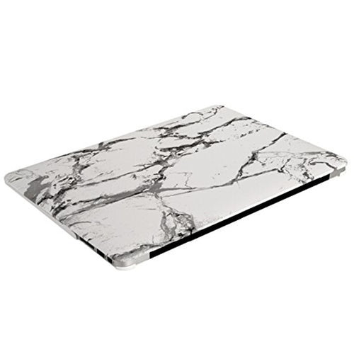White Marble MacBook Laptop Shell