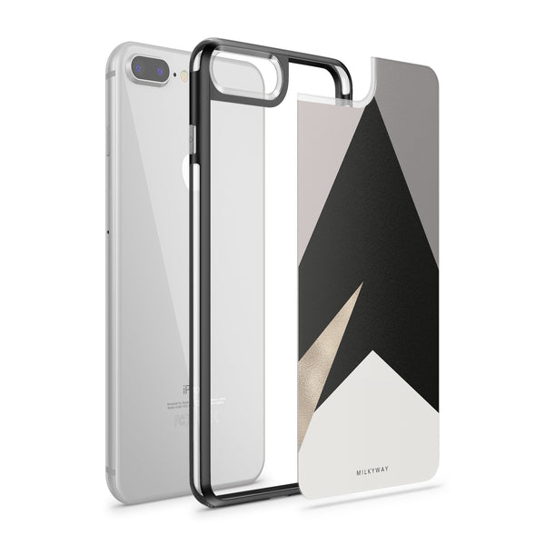 Nude Geo - Slate iPhone Case