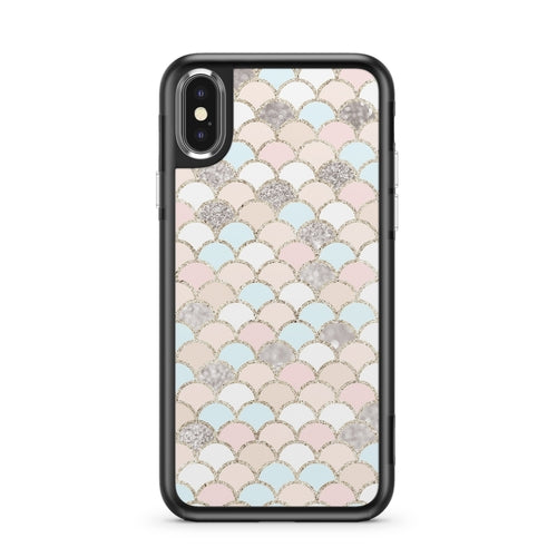 Posh Mermaid - Slate iPhone Case
