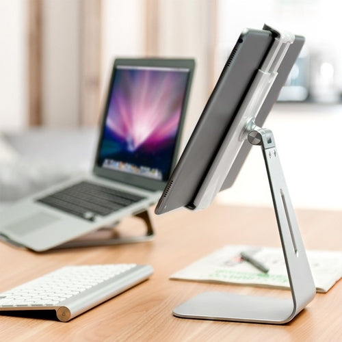 Silver Surfer™ Aluminium Laptop & Tablet Stand