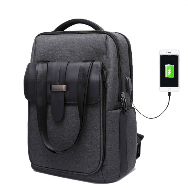 Toby™ Anti-theft Backpack With USB Charge Capability