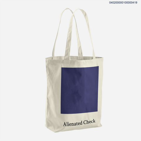 Alienated Check - Tote Bag - Kim Concept | Show your Passion