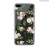 CUTE WATERCOLOR FLOWERS PINK + WHITE - iPhone 8 Plus - Kim Concept | Show your Passion