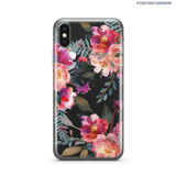 DAINTY PEONIES WATERCOLOR - iPhone X - Kim Concept | Show your Passion