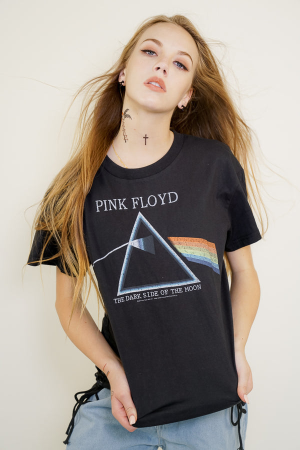 PINK FLOYD Lace Up T-SHIRT