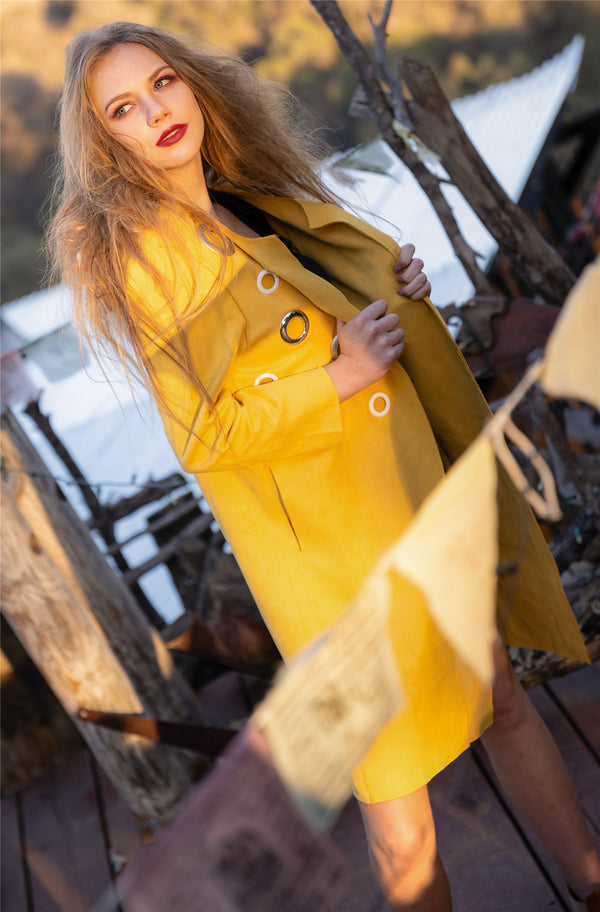 Mellow Yellow Coat