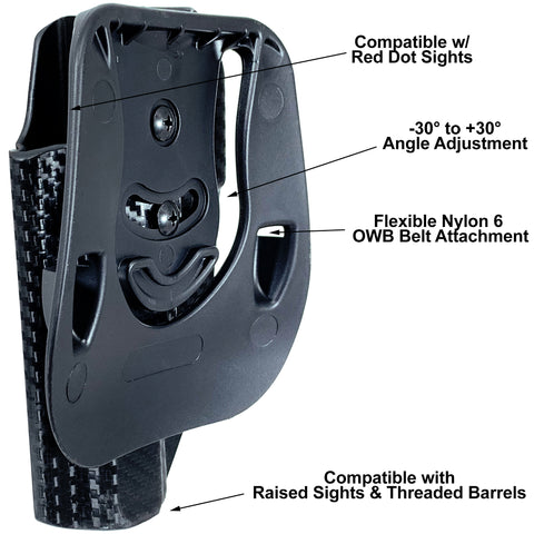 Black Scorpion Gear OWB Paddle Holsters