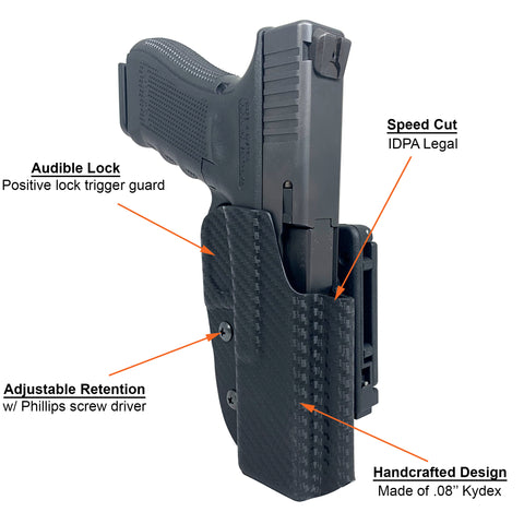 IDPA Holster Diagram Front