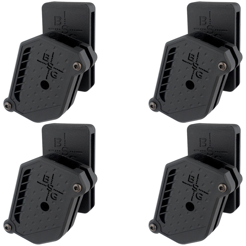 Single Stack Magazine Pouch 9 mm, .40 (4 Pcs)