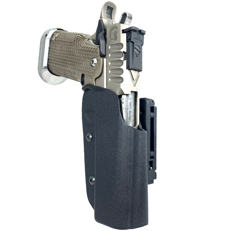 2011 w/ Full Dust Cover OWB Kydex IDPA Holster