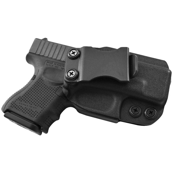 Glock 26, 27, 33 IWB Kydex Holster & Mag Pouch Combo