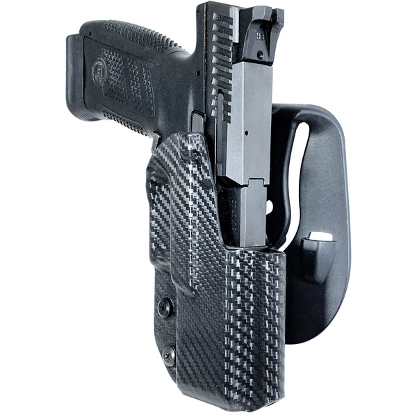 CZ P-10 C OWB Kydex Paddle Holster