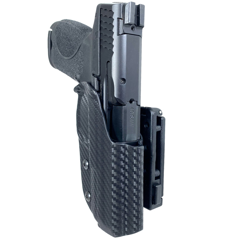 Smith & Wesson M&P9, M&P40 (Inc. M2.0) OWB Kydex IDPA Holster