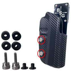 Pro Heavy Duty Competition Holster Hardware Replacement Kit