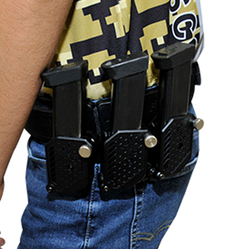 Competition Rig - 1 Heavy Duty Belt, 1 Magnetic Mag Pouch, 3 Double Stack Mag Pouches