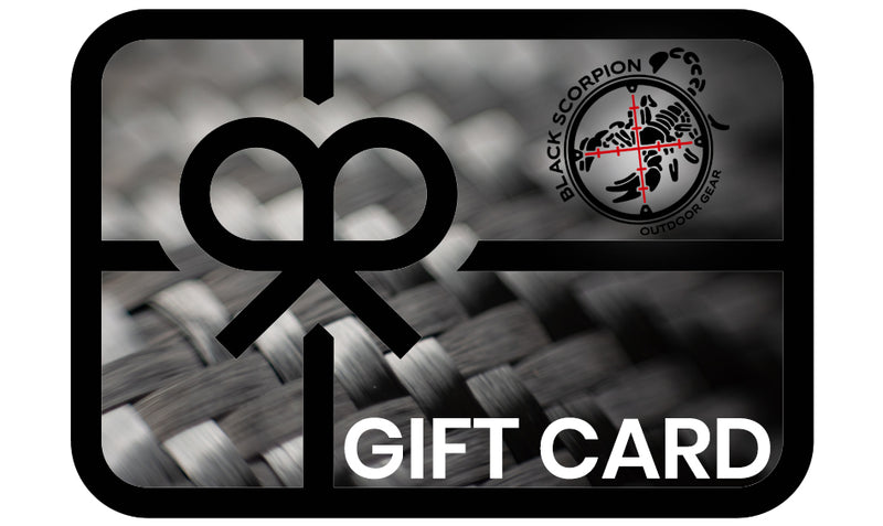 Black Scorpion Outdoor Gear Gift Card