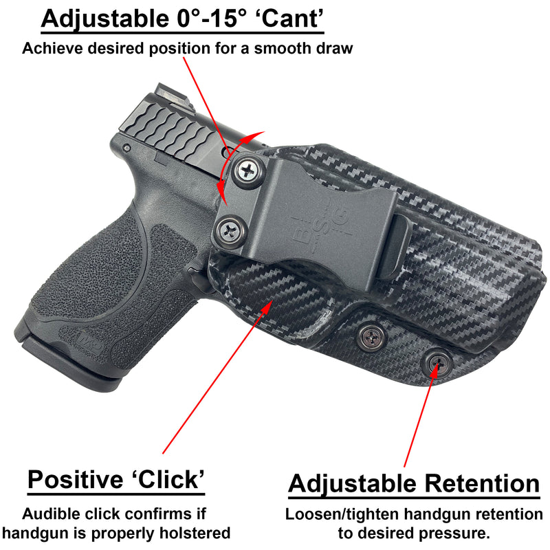 Glock 48 IWB Kydex Holster & Eco-Leather Mag Pouch Combo